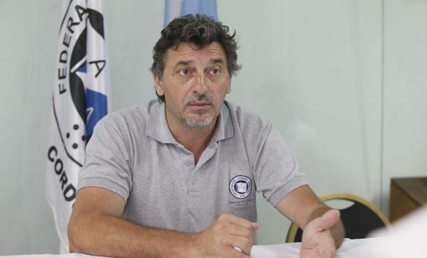 Omar Príncipe, presidente federado.