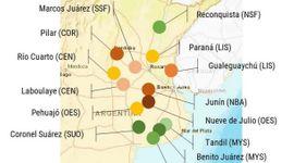 Rindes simulados: qué dicen las proyecciones para la soja y el maíz en distintas zonas del país