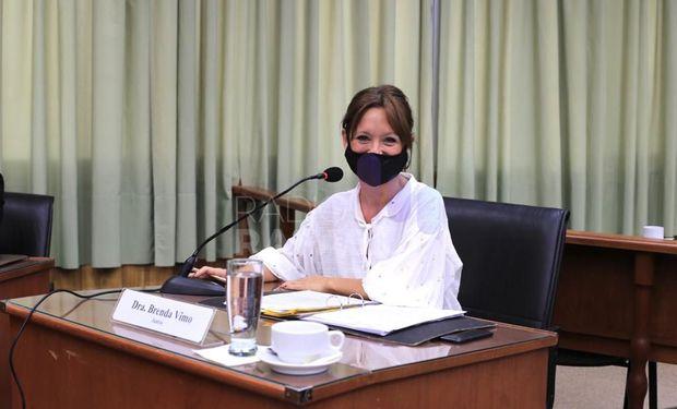 Brenda Vimo, concejala que impulsó el proyecto.
