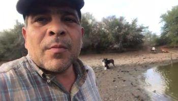 """""""No somos los oligarcas"""": con un video, un productor grafica la difícil situación que enfrentan por la sequía"""