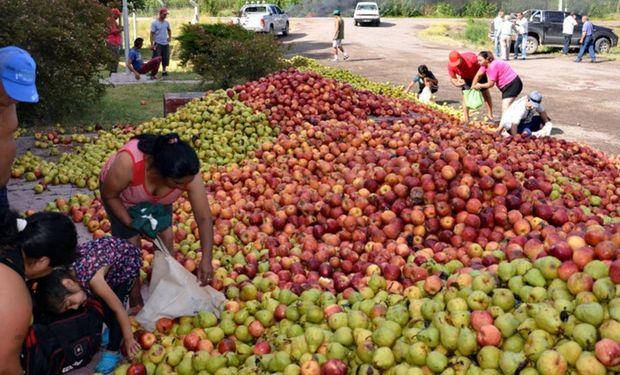 El sector frutícola está en estado de desesperación.