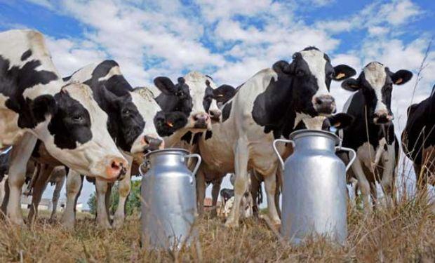 La lechería vivió un día particular, en todo sentido.