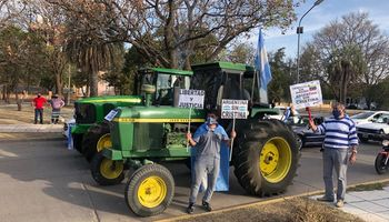 12-O: productores de todo el país se sumaron al masivo banderazo en contra del Gobierno