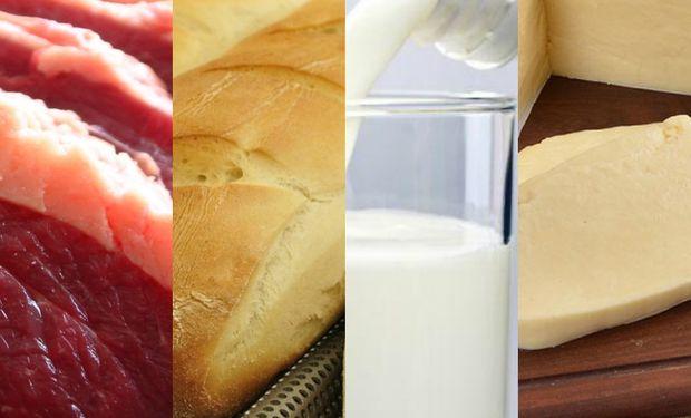 En el caso puntual de la leche, que es el único de los cuatro productos con resultado negativo, vale aclarar que todos los eslabones tienen pérdidas.