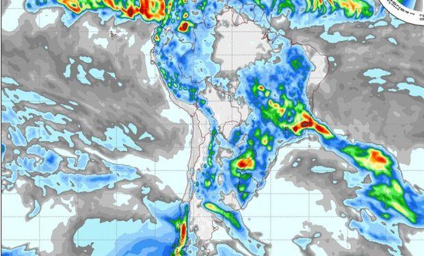 Pronóstico para el día martes 17 de noviembre. Fuente: COLA.