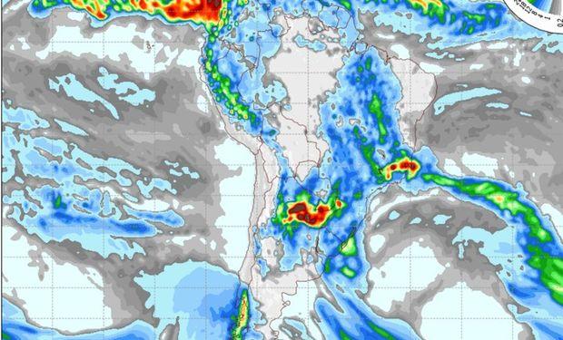 Pronóstico para el día miércoles 18 de noviembre. Fuente: COLA.