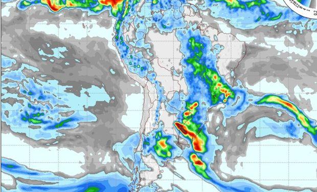 Pronóstico para el día jueves 19 de noviembre. Fuente: COLA.