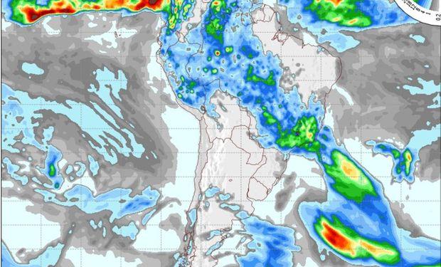 Pronóstico para el día domingo 22 de noviembre. Fuente: COLA.