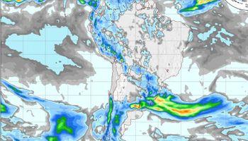 Clima: lluvias y lloviznas