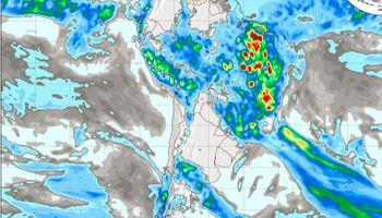 Inestabilidad y probabilidad de tormentas en el NOA