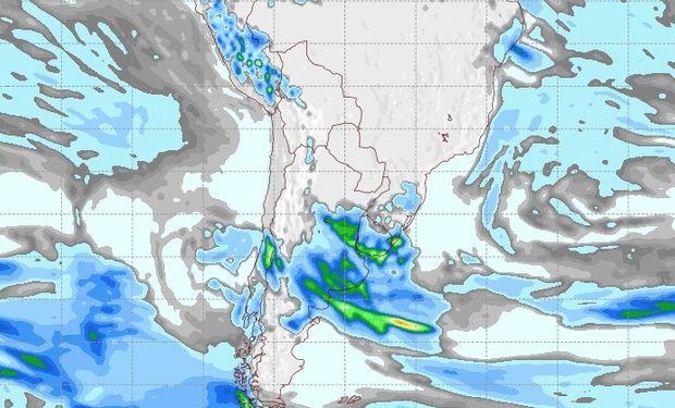 Pronóstico de lluvias para el martes 29 de agosto.