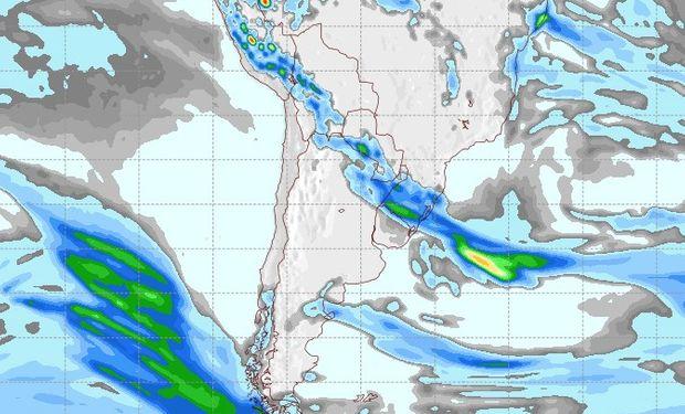 Pronóstico de lluvias para el 22 de septiembre.