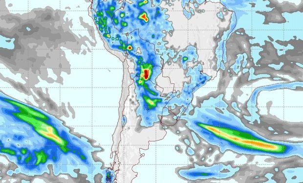 Pronóstico de lluvias para el 28 de septiembre.
