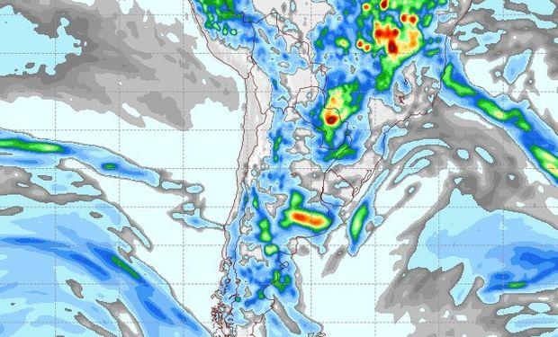 Pronóstico lluvias 8 de noviembre.
