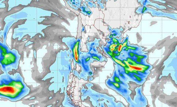Pronóstico lluvias martes 12 de junio.