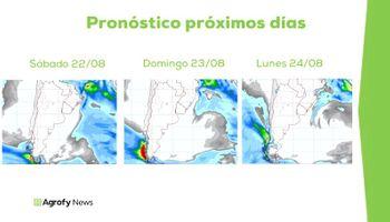 Pronóstico del tiempo: qué puede pasar con las lluvias el fin de semana y hasta mediados de octubre