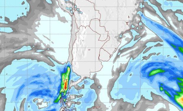 Pronóstico de lluvias para el 29 de julio.