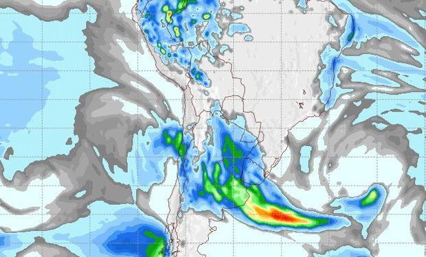 Pronóstico de lluvias para el domingo 10 de septiembre.