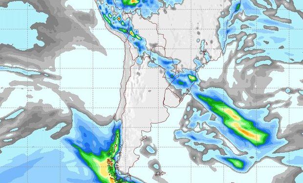 Pronóstico de lluvias para el 23 de septiembre.