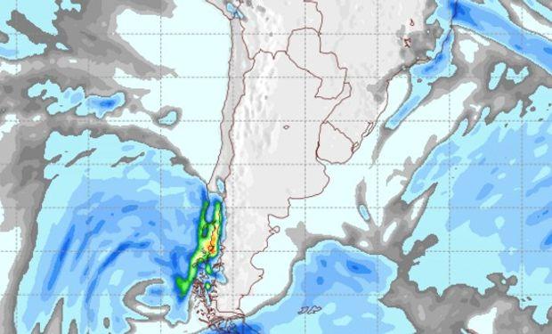 Pronóstico de lluvias para el 30 de julio.