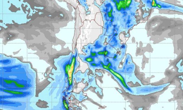 Pronóstico de lluvias 1 de noviembre de 2016.