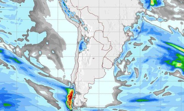 Pronóstico lluvias domingo 17 de junio.