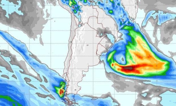 Pronóstico de lluvias para el viernes 28 de octubre.
