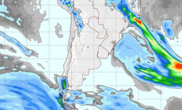 Pronóstico de lluvias para el sábado 29 de octubre.