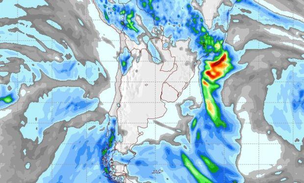 Pronóstico clima para el martes 23 de mayo.