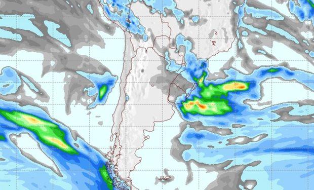 Pronóstico lluvias para el 30 de mayo de 2017.