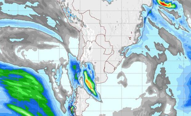 Pronóstico de lluvias para el 5 de julio.