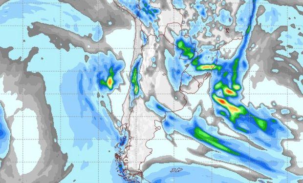 Pronóstico clima para el jueves 25 de mayo.