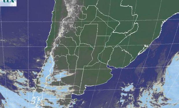 En la foto satelital, se presenta un escenario que se asocia a condiciones estructuralmente estables.