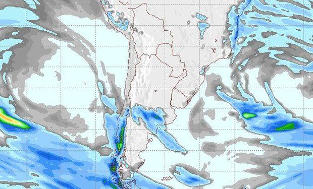 Pronóstico de lluvias para el 19 de septiembre.