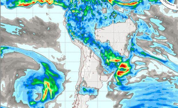 Pronóstico del tiempo para el día domingo 22 de mayo.