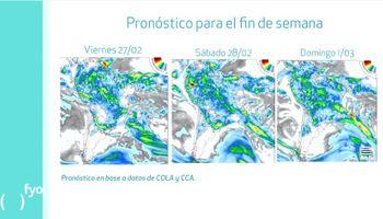 ¿Las lluvias dan una tregua a la región central?