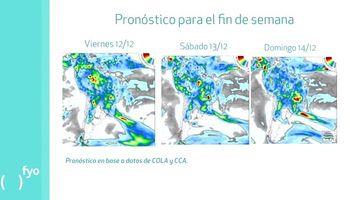 Aumentan las temperaturas y la probabilidad de lluvias
