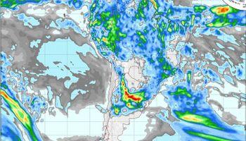 Pronóstico de lluvias y tormentas