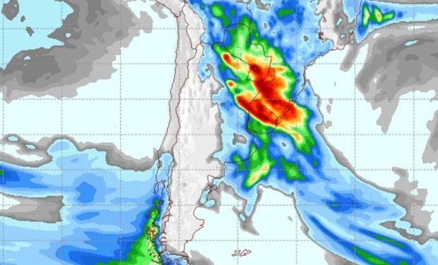 Pronóstico de lluvias 2 de noviembre de 2016.