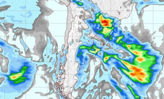Pronóstico lluvias miércoles 13 de junio.