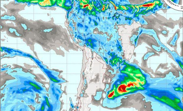 Pronóstico del tiempo para el día martes 17 de mayo.