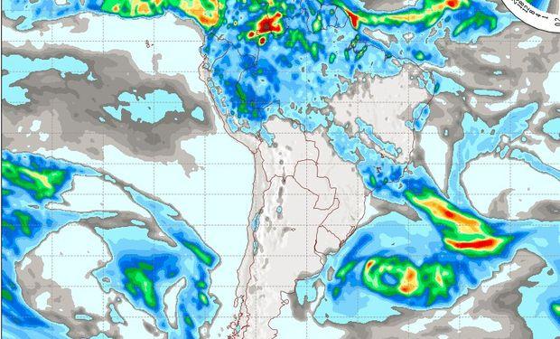 Pronóstico del tiempo para el día miércoles 18 de mayo.