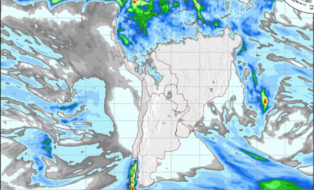 Día por día, qué dice el pronóstico de lluvias y temperaturas para la próxima semana
