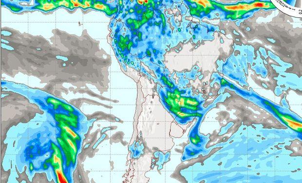 Pronóstico del tiempo para el día sábado 21 de mayo.