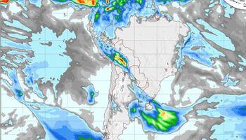 Vientos del sur generan descenso de temperatura