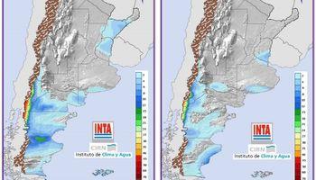 Pronóstico de lluvias y descenso de temperaturas