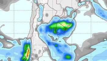 Se esperan lluvias principalmente sobre el norte
