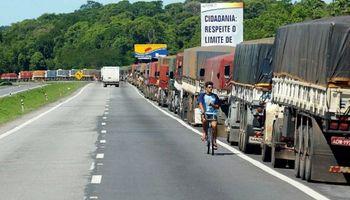 Protesta de camioneros en el principal estado productor de soja de Brasil