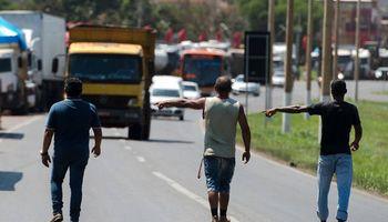 Pierde fuerza la protesta de camioneros en Brasil
