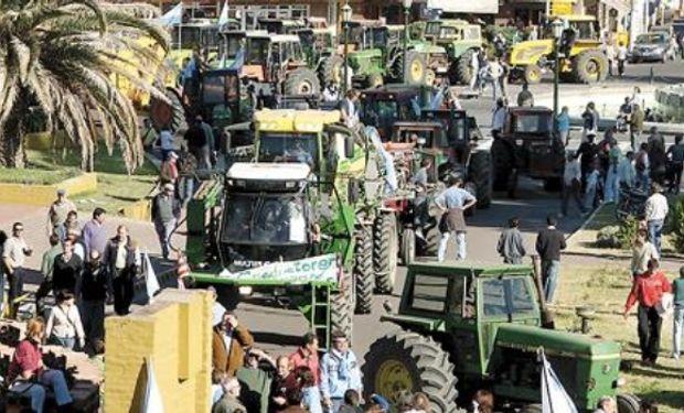 Productores agropecuarios de Córdoba, Santa Fe, Buenos Aires, La Pampa, Mendoza, Chaco, Formosa y Salta se movilizarán mañana.